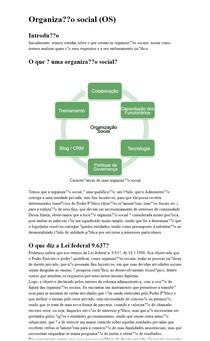 Organização Social (os)