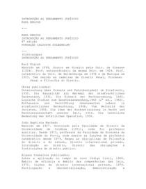 KARL ENGISH - Introduçao ao Pensamento Jurídico