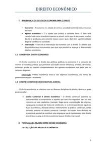 APOSTILA DE DIREITO ECONOMICO