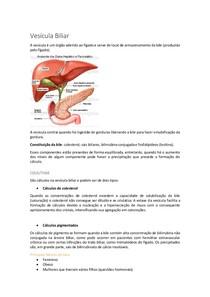 Patologias da Vesícula Biliar