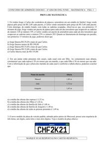 cmf- colégio militar de fortaleza-prova-mat-6-2020