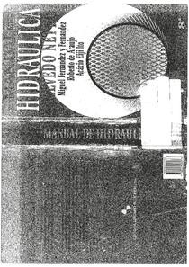 Manual de Hidraulica   Azevedo Neto 8ª edição