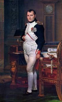 Jacques Louis David - Napoleon in His Study