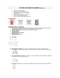 roteiro de exames semiologia
