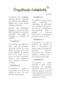 Competências e habilidades ENEM - Copia