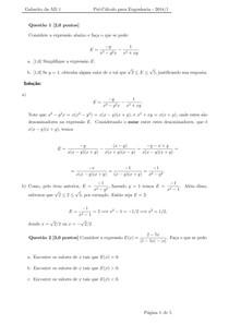 AD1 Pré-Calculo Engenharia de Produção 2018 1 gabarito - CEDERJ