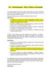RESPOSTAS - Av1 - Ética, Política e Sociedade