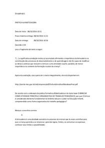PROVA SIMULADO DE ALFABETIZAÇÃO NOTA 100