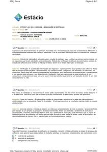 AV - CCT0207 - Avaliação de Software - Leandro Robady