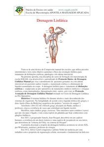 Drenagem linfática