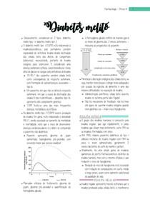 Farmacologia - Prova B - Diabetes
