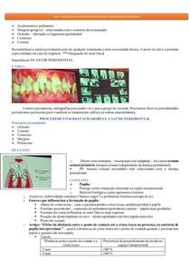 Interrelação periodontia e odontologia restauradora (dentistica)e implantes