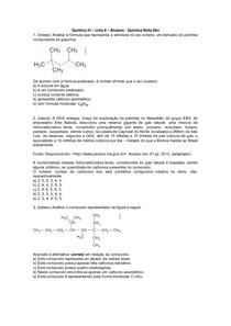 Química III - Lista 04