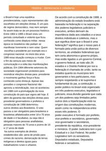 História - Cidadania e Democracia (resumo)