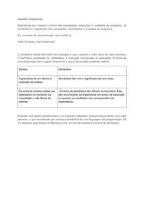 ATIVIDADE 1 - PARADIGMAS DE LINGUAGEM DE PROGRAMACAO docx
