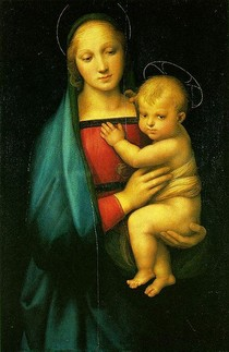 Raphael Sanzio - Madonna del Granduca