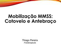 Aula 06 Mobilização MMSS Cotovelo e Antebraço