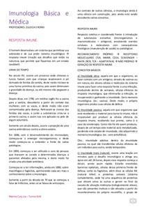 Imunologia Básica e Médica