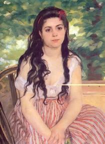 Renoir - Summer Study Girl
