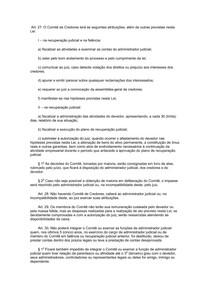 COMITE DE CREDORES