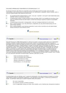 AVALIANDO APRENDIZADO FUNDAMENTOS DE EPIDEMIOLOGIA 1 A 5