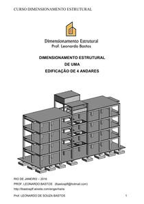 APOSTILA DIMENSIONAMENTO PREDIO 4 ANDARES
