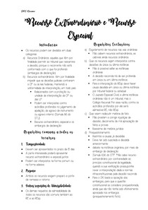 Processo Civil- Recursos- Rescursos extraórdinario e recurso especial