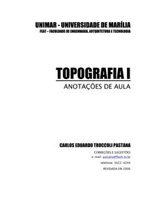 Apostila de topografia I .pdf