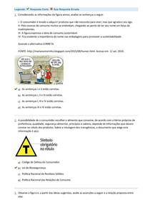 Avaliação I - Estudo Transversal I
