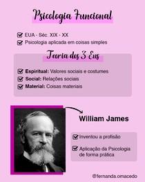 Psicologia Funcional - William James