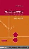 Metal forming Mechanics and Metallurgy