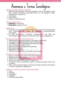 Anamnese e Termos Semiológicos   Práticas Veterinárias II