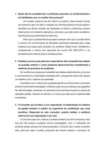Atividade 4 Modulo 2 auditorias da qualidade