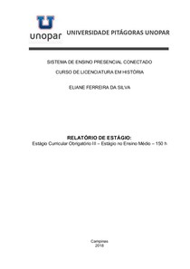 Relatorio de Estágio III.