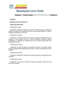 Resolução LT Unidade 2