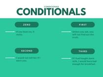 CONDITIONALS - CONDICIONAIS