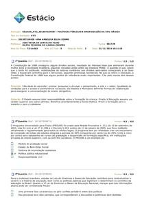 AV2 - Políticas Públicas e Organização da Educação Básica