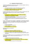 RESPOSTAS: AV1 - Seminário IV