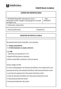 Portfólio - atendimento 14 06 2021