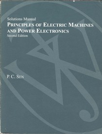 Principles of Electric Machines Solutions