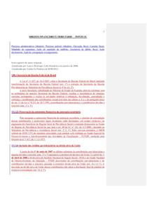 DIREITO FINANCEIRO E TRIBUTÁRIO  – PONTO 15.