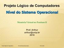 Projeto Logico de Computadores   05   Nivel do Sistema Operacional   Pentium II