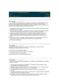 AV responsabilidade civil - estácio - CCJ0050 - EAD