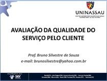 2017.1 AVALIA  O DA QUALIDADE DO SERVI O PELO CLIENTE  OK