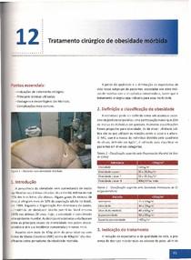 Capítulo 12 - Tratamento Cirúrgico da Obesidade Mórbida
