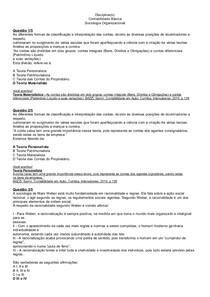 Gabarito Apol 3 - Contabilidade Básica e Sociologia