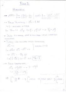 Fisica 2 oscilações