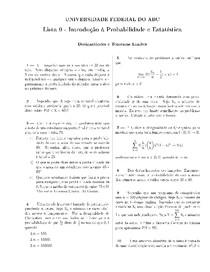 Desigualdades e Teoremas Limites