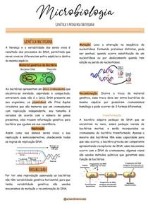 Genética e patogenia Bacteriana