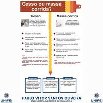 GESSO OU MASSA CORRIDA
